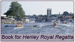Book now for Henley Royal Regatta